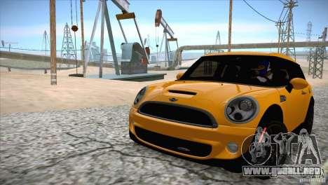 MINI Cooper Clubman JCW 2011 para visión interna GTA San Andreas