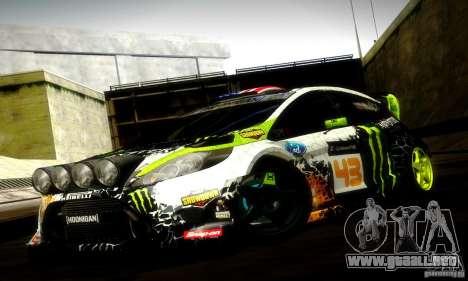 Ford Fiesta Gymkhana 5 para GTA San Andreas