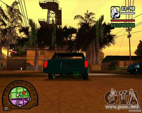 IV High Quality Lights Mod v2.2 para GTA San Andreas sucesivamente de pantalla
