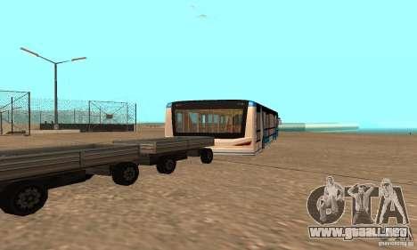 Design X XAPGL para GTA San Andreas vista posterior izquierda
