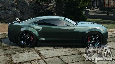Chevrolet Camaro SS EmreAKIN Edition para GTA 4 left