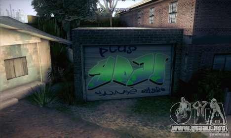 Nueva casa CJ para GTA San Andreas segunda pantalla