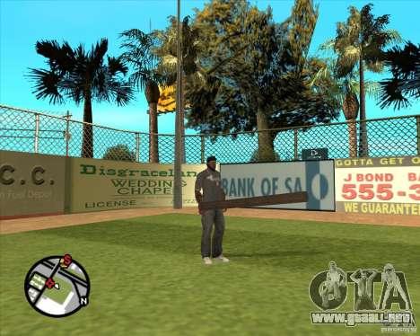 Madera rusa para GTA San Andreas segunda pantalla