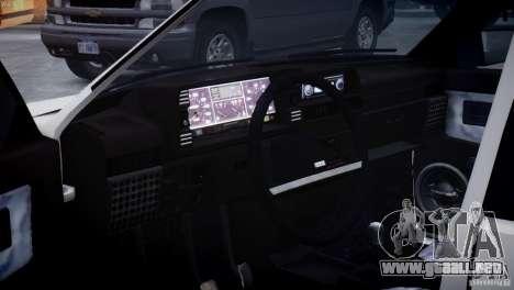VAZ 21099 Tuning luz para GTA 4 vista lateral