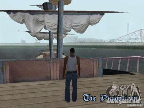Barco pirata para GTA San Andreas