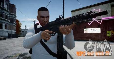 MP5 (CoD: Modern Warfare 3) para GTA 4