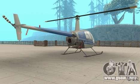 Robinson R22 para GTA San Andreas left