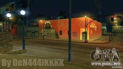 Graffiti para GTA San Andreas segunda pantalla