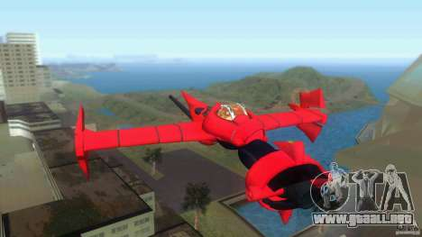 Swordfish Mono Racer para GTA Vice City vista lateral izquierdo