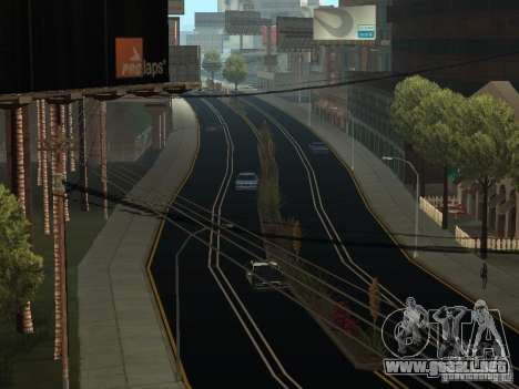 New Roads in San Andreas para GTA San Andreas segunda pantalla