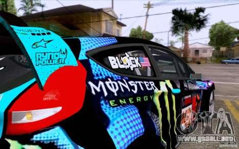 Ford Fiesta 2013 v2.0 para la visión correcta GTA San Andreas