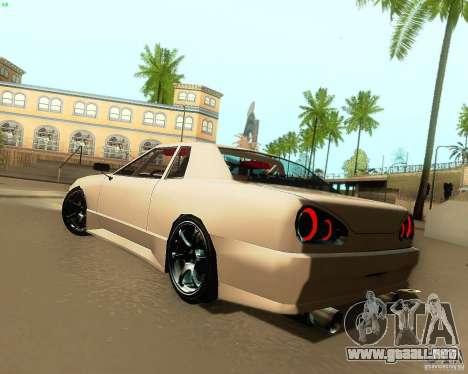 Elegy Drift Korch para la visión correcta GTA San Andreas