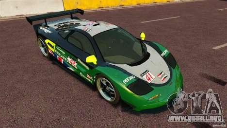 McLaren F1 para GTA 4 visión correcta