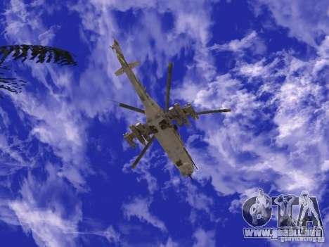 Mi-24 de COD MW 2 para la visión correcta GTA San Andreas