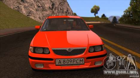 Mazda 626 Stock para la visión correcta GTA San Andreas