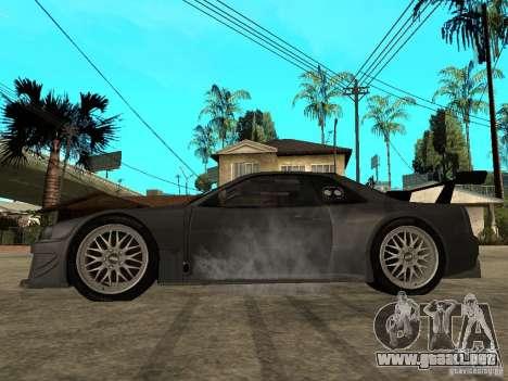 Nissan Skyline R34 GT-R para GTA San Andreas left