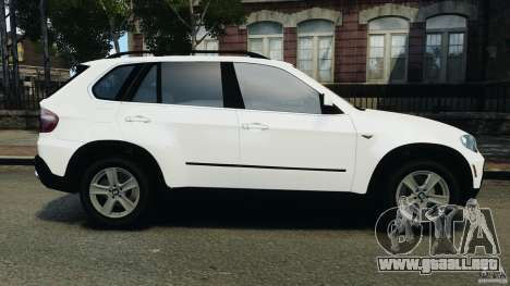 BMW X5 xDrive48i Security Plus para GTA 4 left
