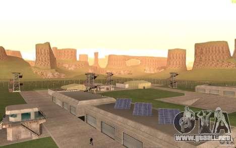 New desert para GTA San Andreas quinta pantalla