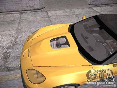Chevrolet Corvette ZR1 para la vista superior GTA San Andreas