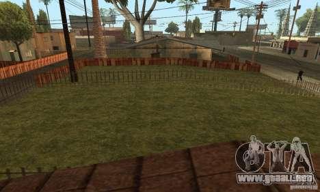 Grove Street 2013 v1 para GTA San Andreas séptima pantalla