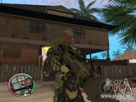 Colección de armas de Crysis 2 para GTA San Andreas novena de pantalla
