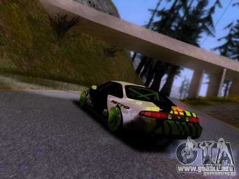 Nissan Silvia S14 Matt Powers v3 para GTA San Andreas left