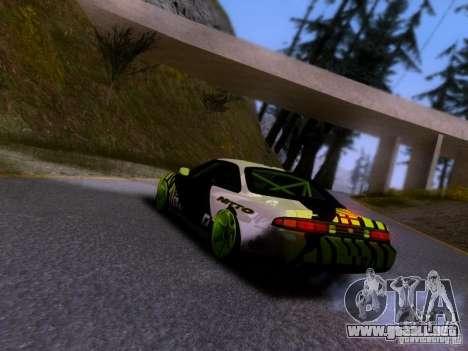 Nissan Silvia S14 Matt Powers v3 para GTA San Andreas left