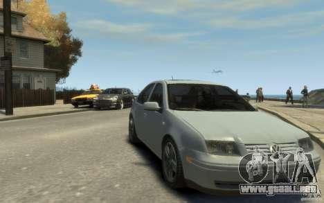 Volkswagen Bora V6 2003 para GTA 4 vista hacia atrás