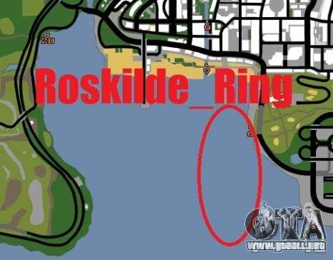 Anillo de Roskilde para GTA San Andreas quinta pantalla