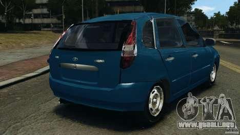 Vaz-1119 Kalina para GTA 4 Vista posterior izquierda