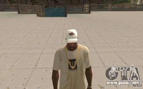Nfsu2 Cap white para GTA San Andreas segunda pantalla