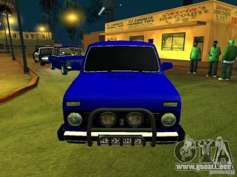 VAZ 21214 Niva para GTA San Andreas left