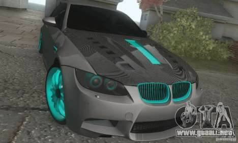 BMW M3 E92 Hellaflush v1.0 para GTA San Andreas