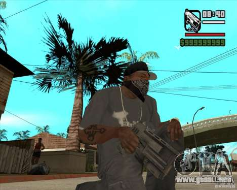 Pak armas de Fallout New Vegas para GTA San Andreas sexta pantalla
