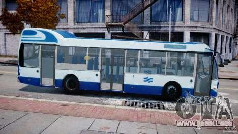 DAF Berkhof City Bus Amsterdam para GTA 4 left