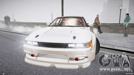 Nissan Sileighty para GTA 4 vista lateral