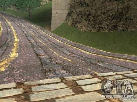 Nuevos caminos en Vajnvude para GTA San Andreas segunda pantalla