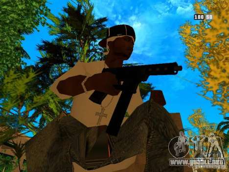New Weapon Pack para GTA San Andreas quinta pantalla