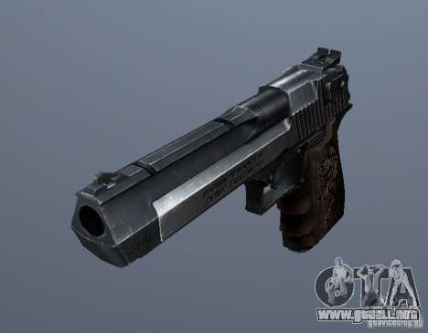 Desert Eagle - Old model para GTA San Andreas segunda pantalla