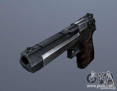 Desert Eagle - Old model para GTA San Andreas segunda pantalla