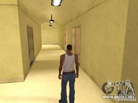 La entrada para el Hospital de Los Santos para GTA San Andreas sexta pantalla