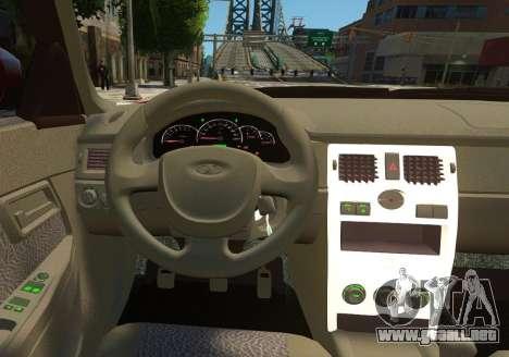 VAZ 2170 Lada Priora para GTA 4 ruedas