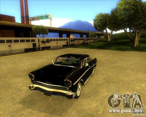 Hollywood para GTA San Andreas vista hacia atrás