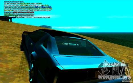Enbseries cualitativo 2 para GTA San Andreas tercera pantalla
