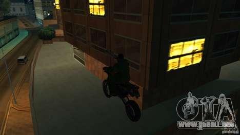 Motocicleta Mirabal para la visión correcta GTA San Andreas