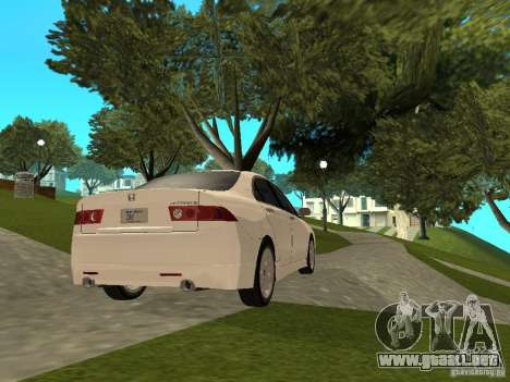 Honda Accord Type S 2003 para GTA San Andreas left