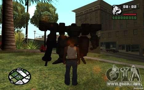 Exoesqueleto para GTA San Andreas segunda pantalla