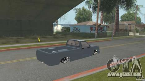 Chevrolet Silverado Mini Truckin 1996 para GTA San Andreas left