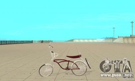 Low Rider Bike para GTA San Andreas left