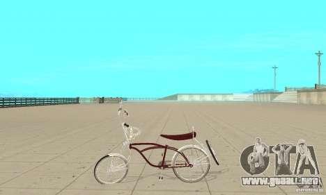 Low Rider Bike para GTA San Andreas left